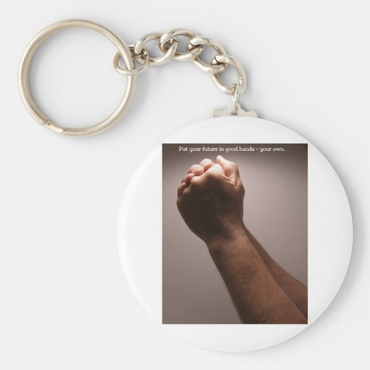 Your Future  (male version) Keychain