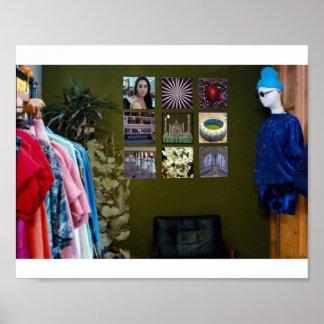 Your Garage Fashion Designer Show Couture fun gift Poster