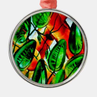 Your Garden Custom Premium Round Ornament