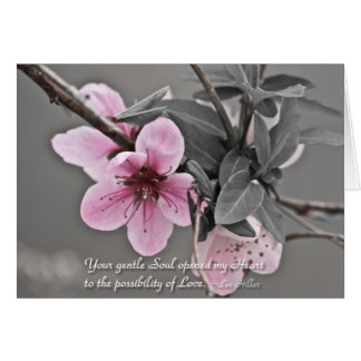 Your gentle Soul opened... Greeting Card