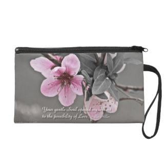 Your gentle Soul opened... Wristlet Purse Bag