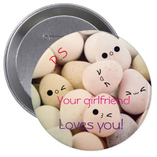 Your Girlfriend Loves you! Button