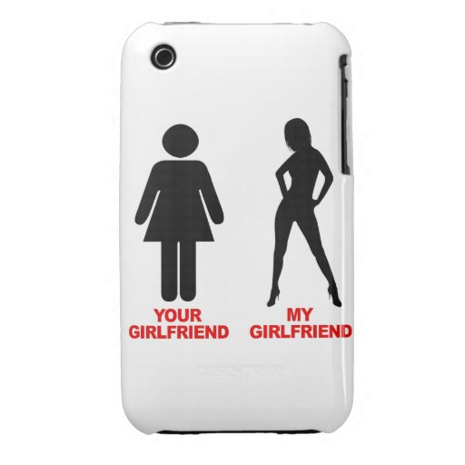 Your Girlfriend. My Girlfriend (2) iPhone 3 Cover