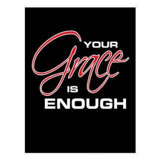 Your Grace is Enough - Joel Osteen Postcard