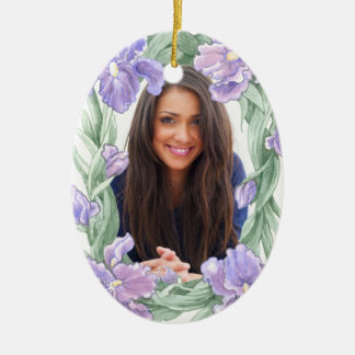 Your Graduation Creation - See Back - SRF Double-Sided Oval Ceramic Christmas Ornament