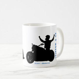 YOUR grandpa on 2 wheels!   My grandpa on 2 wheels Coffee Mug