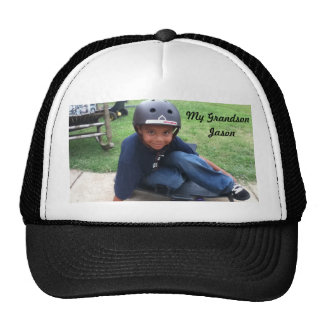 Your Grandson on a Hat