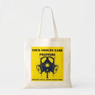 YOUR GROUPS NAME BUDGET TOTE BAG