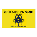 YOUR GROUPS NAME Double-Sided STANDARD BUSINESS CARDS (Pack OF 100)