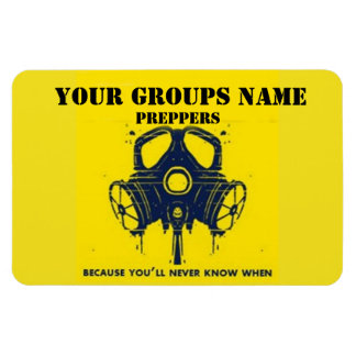 YOUR GROUPS NAME FLEXIBLE MAGNETS