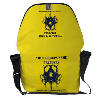 YOUR GROUPS NAME HERE COURIER BAG