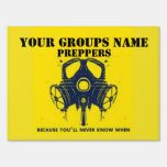 YOUR GROUPS NAME LAWN SIGNS