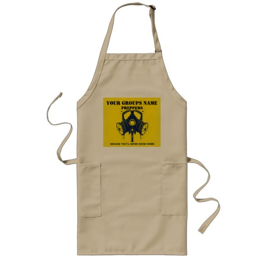 YOUR GROUPS NAME LONG APRON
