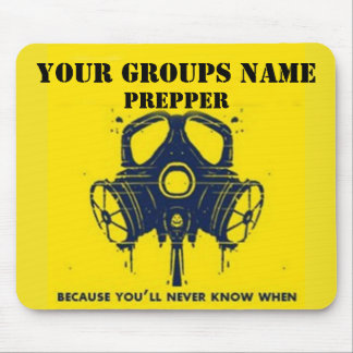 YOUR GROUPS NAME MOUSE PAD