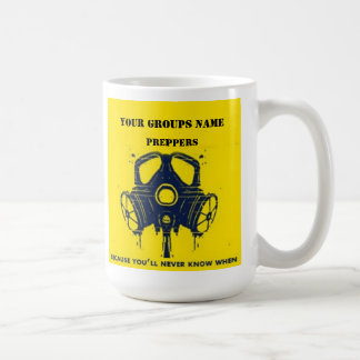 YOUR GROUPS NAME COFFEE MUGS