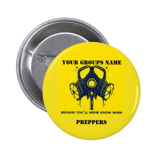 YOUR GROUPS NAME PINBACK BUTTONS