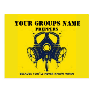 YOUR GROUPS NAME POSTCARD