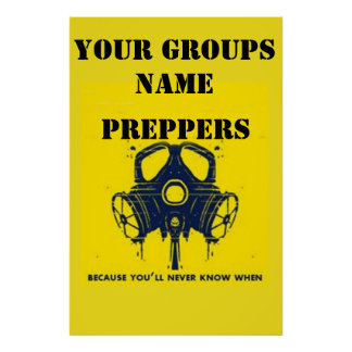 YOUR GROUPS NAME POSTER