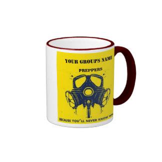 YOUR GROUPS NAME RINGER COFFEE MUG
