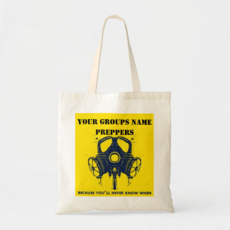 YOUR GROUPS NAME TOTE BAG