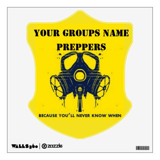 YOUR GROUPS NAME WALL DECOR
