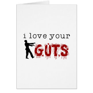 Your Guts Card