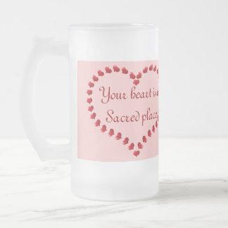 your heart is sacred mug