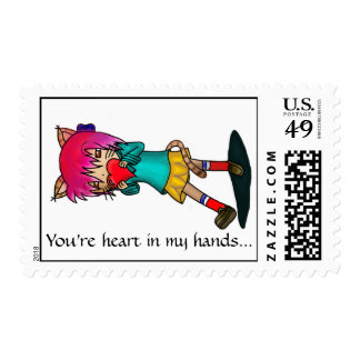 your heart stamp