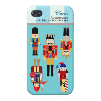 Your Holiday Adventures with Nutcrackers Soldiers iPhone 4 Covers