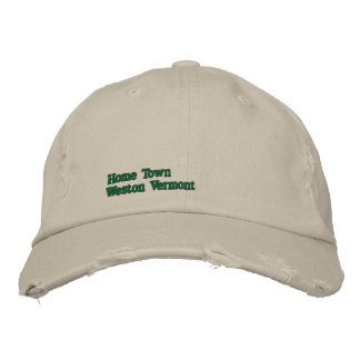 Your Home Town Hat Embroidered Hats