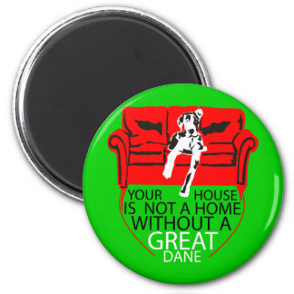 Your Home without a Dane? Imposible! Magnet