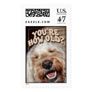 Your How Old? Postage Stamp