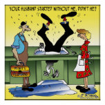 Your Husband Started Without Me Posters