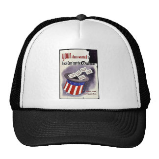 Your Ideas Wanted To Uncle Sam Beat The 8 Schedule Trucker Hat