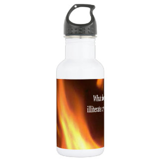 Your Illiterate Coven Stainless Steel Water Bottle
