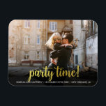 "Your Image Here Antique Gold Party Time! Photo Magnet<br><div class=""desc"">Create your own &#39;Your Image Here Antique Gold Party Time! Photo&#39; by Custom Photo Designs.</div>"