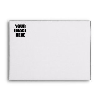 YOUR IMAGE HERE - CUSTOM APPAREL.png Envelopes