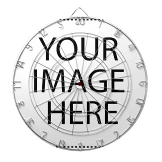 Your Image Here Dartboard With Darts
