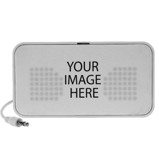 Your Image Here Doodle Speaker