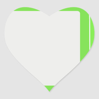YOUR IMAGE HERE HEART STICKER