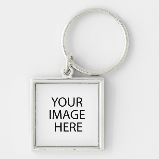 Your Image Here Keychain