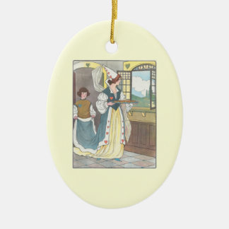Your Image Here mother goose template Ceramic Ornament