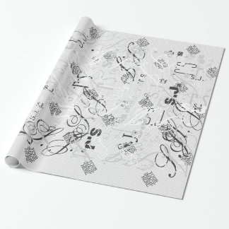 Your Image Here One Easy Step to Your Creation Wrapping Paper