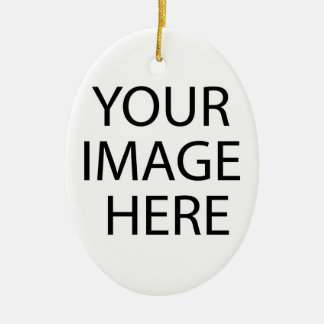 Your Image Here Oval Ornament