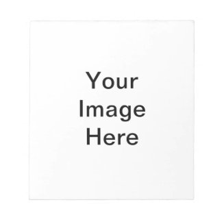 Your Image Here Pattern Notepad