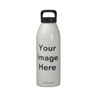 Your Image Here Pattern Water Bottle