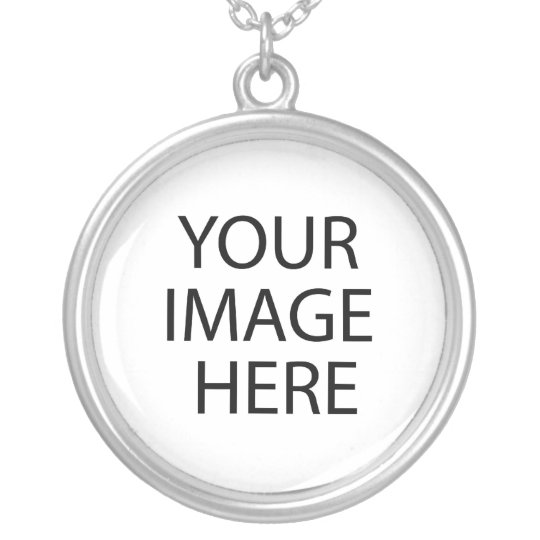 Your Image Here Round Necklace