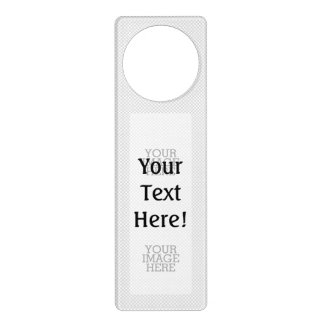 Your Image Here Two Easy Steps to Your Creation Door Hanger