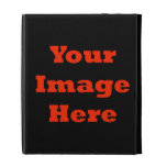 Your Image Here (Vertical) iPad Folio Cover