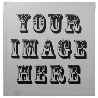 Your Image on Cloth Napkin